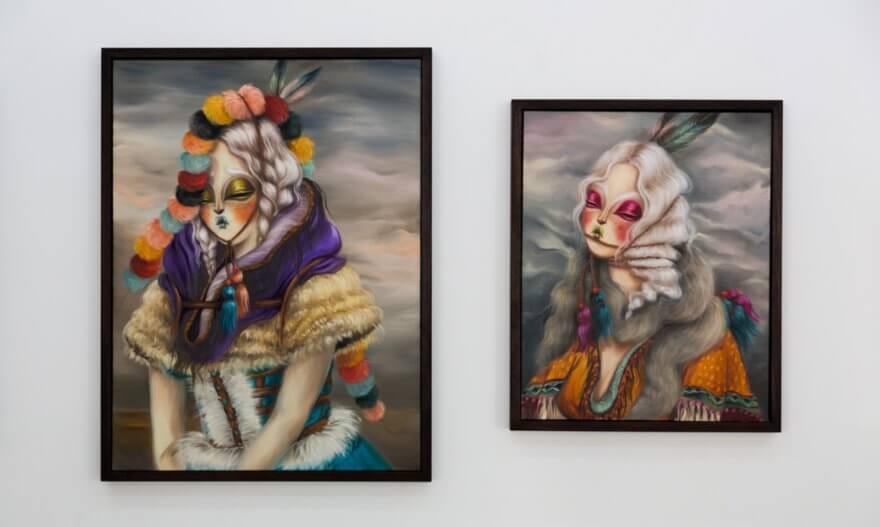 Retrospectiva de Miss Van en la Galería Openspace de París