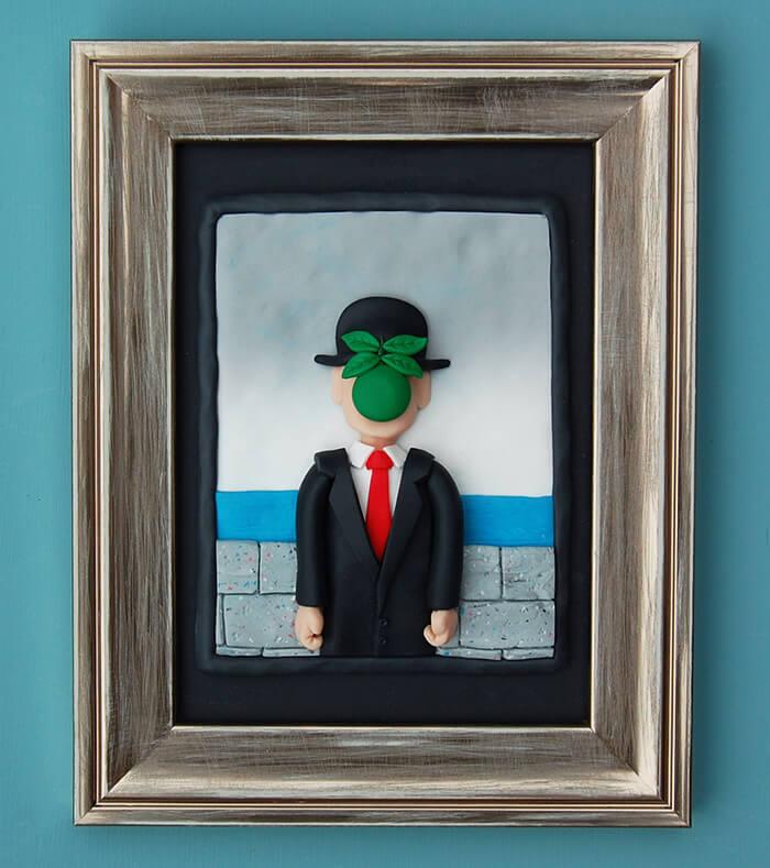Clay Disarrayes una artista plástica que genera su obra mediante la arcilla polimérica