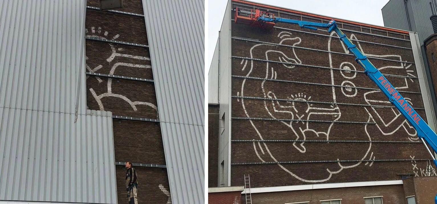 Nuevo descubrimiento deKeith Haring en Europa