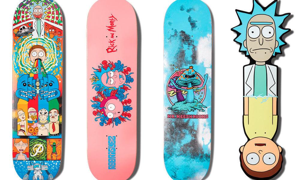 Rick & Morty x Primitive Skateboarding