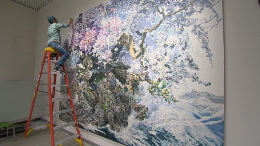Las meticulosas obras de arte de Manabu Ikeda