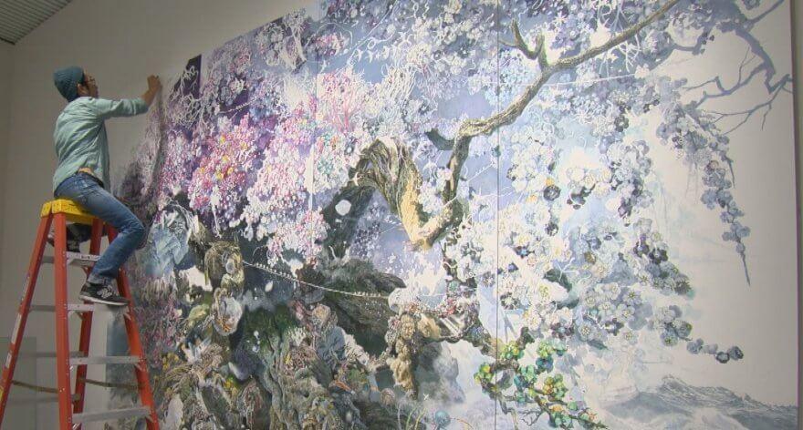 Manabu Ikeda y sus meticulosas obras de arte