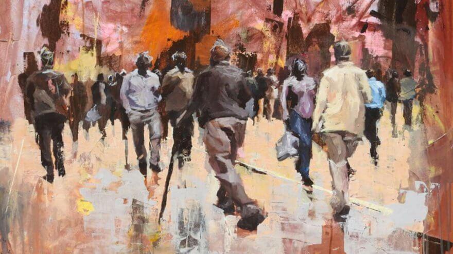 La transformación del arte en Nairobi por el colectivo Brush Tu