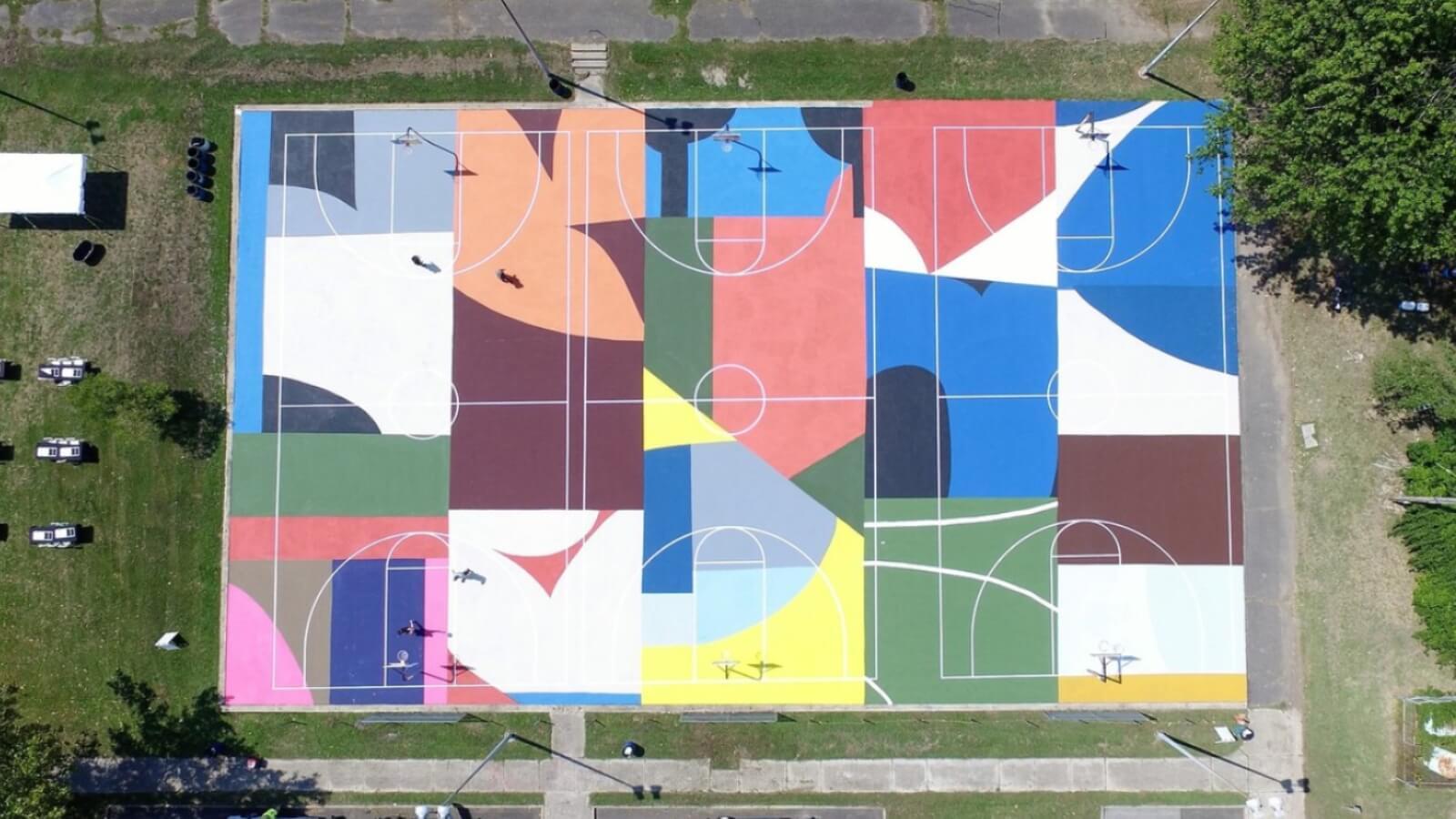 Project Backboard, rescatando las canchas de Basketball con Street Art