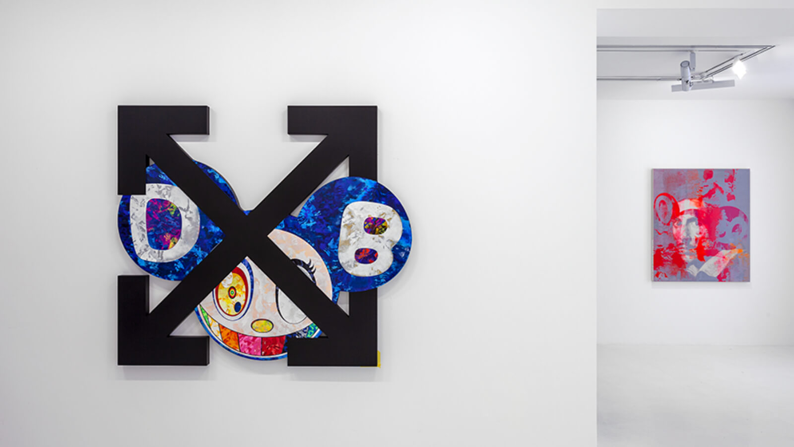 El artista Takashi Murakami se reunió de nueva cuenta con el diseñador Virgil Abloh
