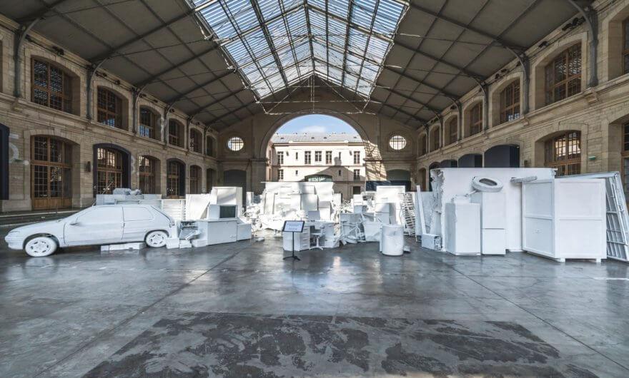 «Fragments Urbains» la nueva exhibición de Vhils en Francia