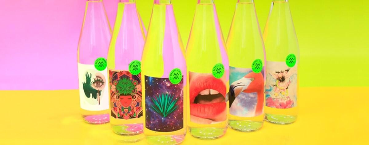 Botellas con creaciones de talentosos artistas