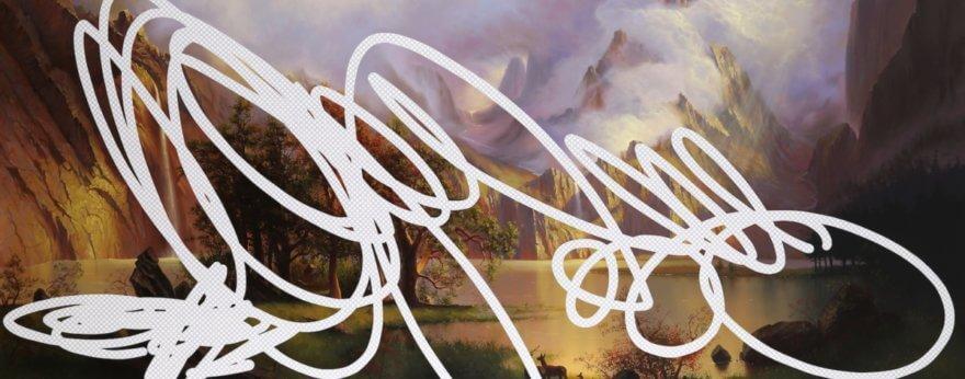 Shawn Huckins borra la historia mediante sus pinturas acrílicas