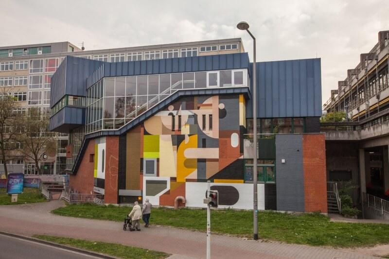 Cada verano el proyecto Stadt Wand Kunst de Manheim en Alemania. Invita a espectaculares y artistas urbanos, nacionales e internacionales a formar parte de una propuesta artística única.