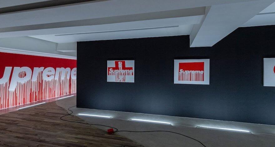 Zevs y su exposición «Supreme même»