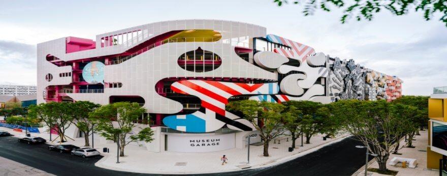 Museum Garage y su asombroso diseño