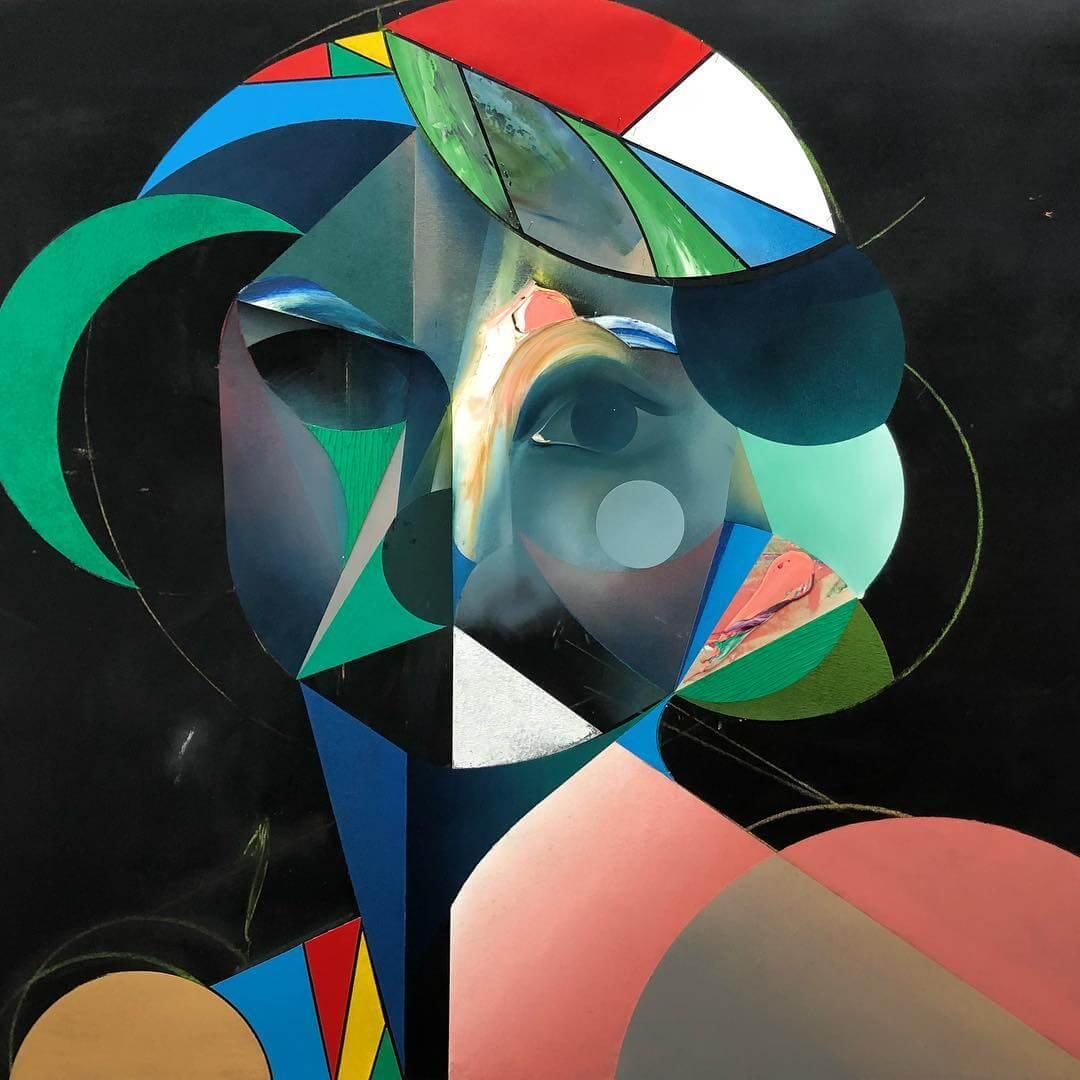 Ryan Hewett es un pintor sudafricano, reconocido por sus representaciones de pinturas abstractas de sujetos sobre retratos.