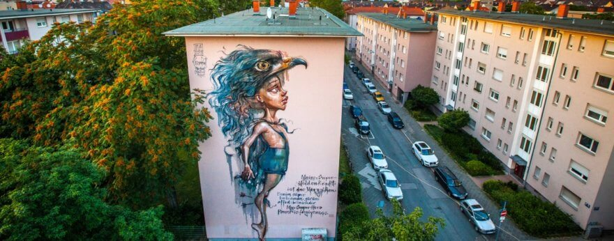 Stadt Wand Kunst y su proyecto en las calles de Mannheim