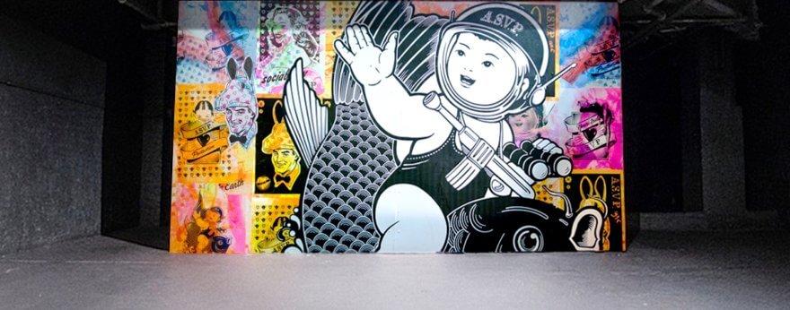 Entrevista con el dúo de Arte Urbano ASVP