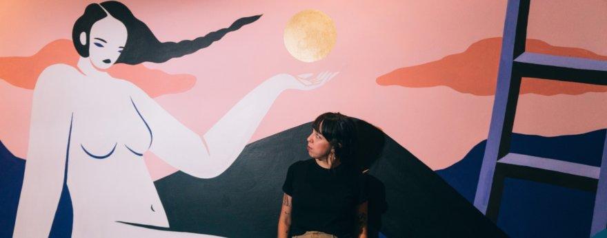 Hilda Palafox (Poni) y su exposición «Phenomena Naturales»