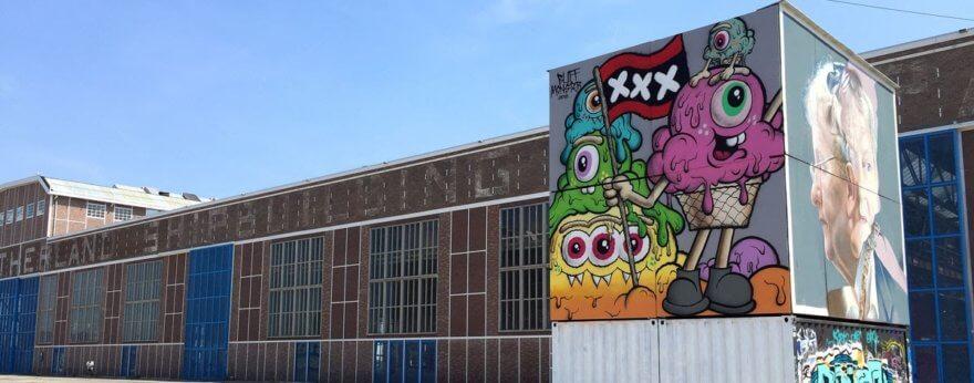 Buff Monster y su nueva presentación en Amsterdam