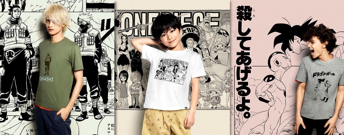 Aniversario 50º Weekly Shonen Jump y colabración Uniqlo