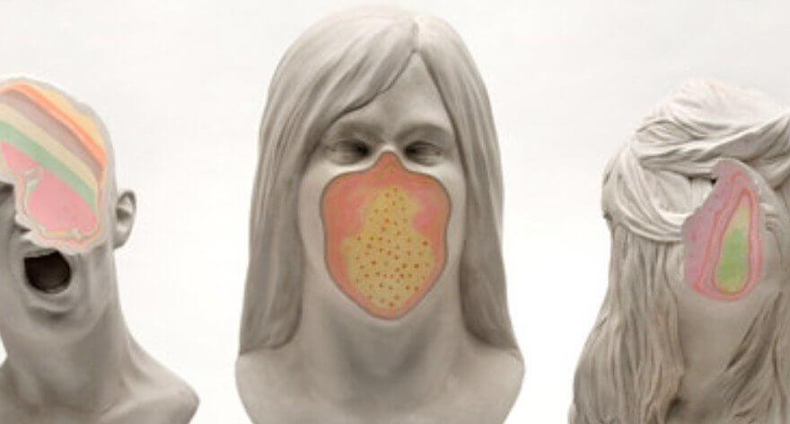 Christina West y sus esculturas de retrato
