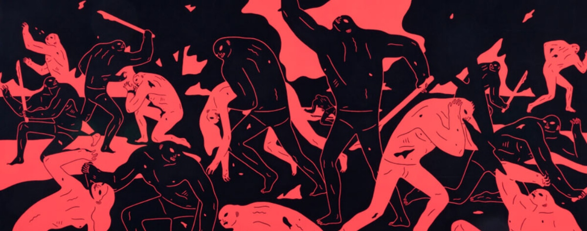 Cleon Peterson en la Galería Over the Influence