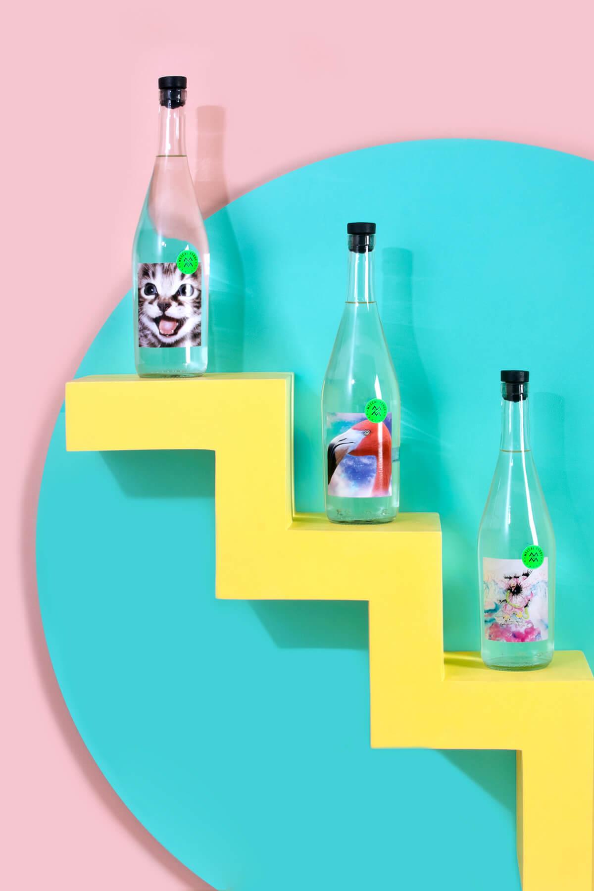 Botellas diseñadas por artistas