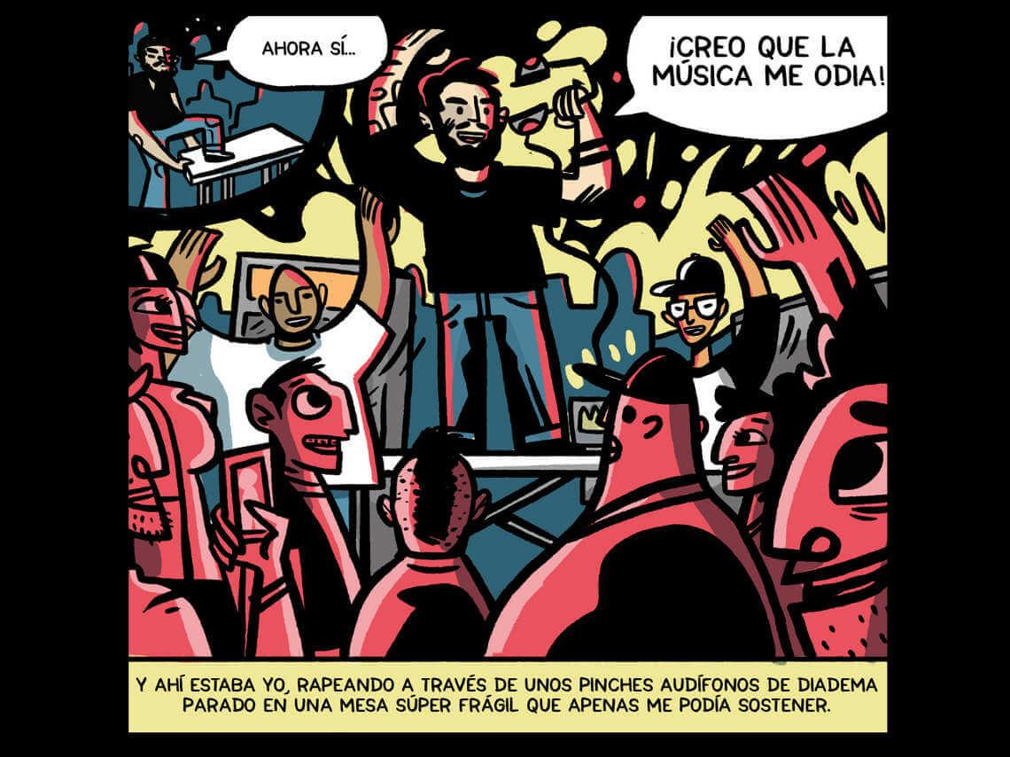 """Un elemento que resguarda anecdóticas historias de hip hop en México ha llegado. Nos referimos a """"Phono Cómics"""", una historieta que estará encargada de preservar momentos clave y experiencias de raperos nacionales."""
