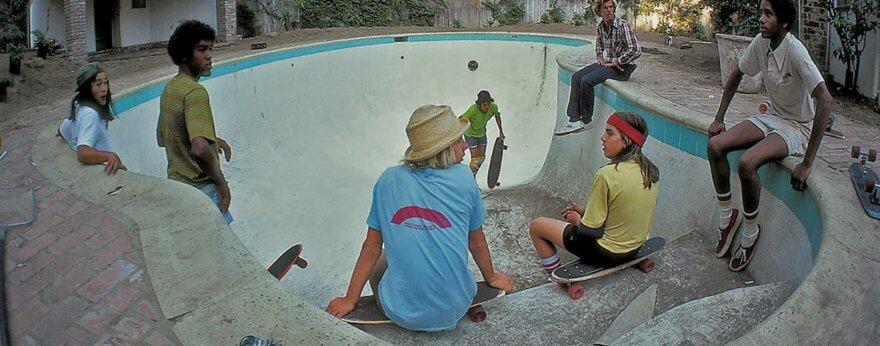 La historía del skate en fotografías con Against the Grain