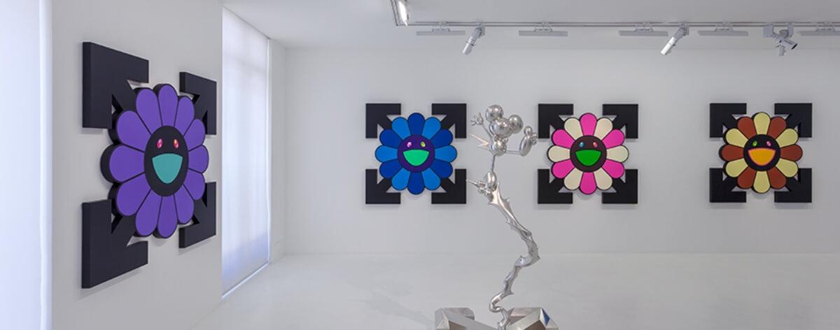 Murakami y Abloh presentan nueva exposición juntos