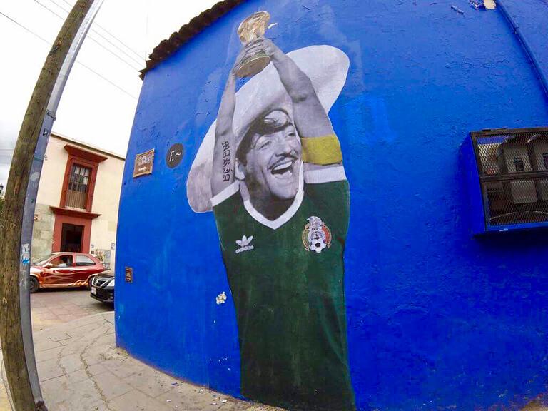 Censuran los Murales de Efedefroy en Oaxaca