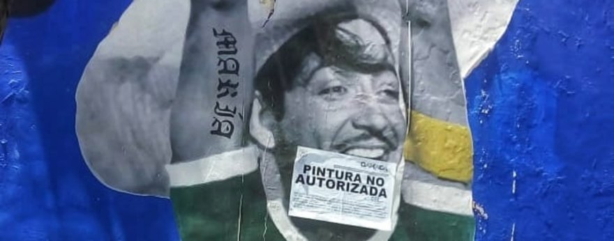 Murales de Efedefroy en Oaxaca son censurados