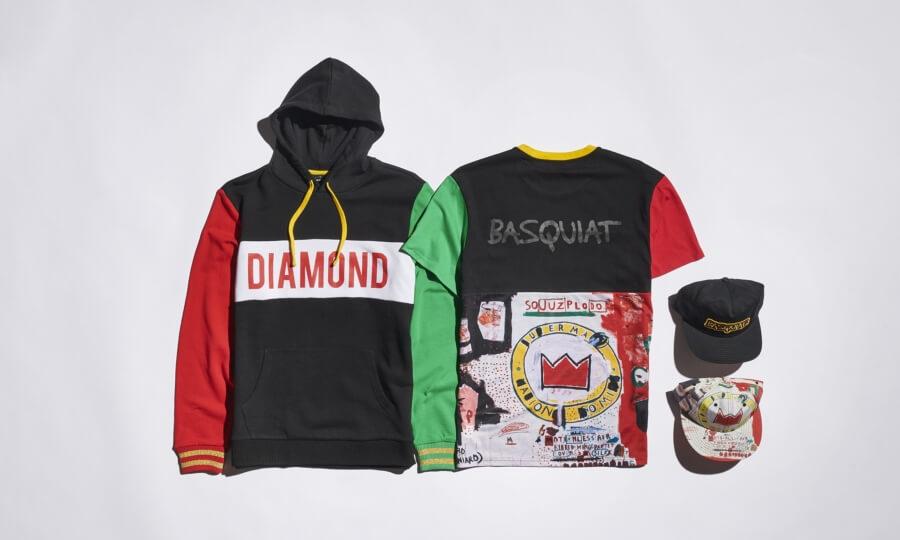 Diamond Supply Co presenta piezas de Basquiat
