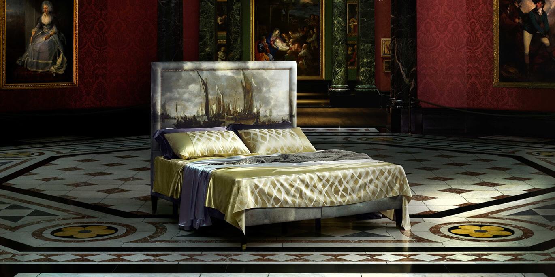 The National Gallery y Savoir Beds traen una colaboración que te hace dormir sobre obras de arte