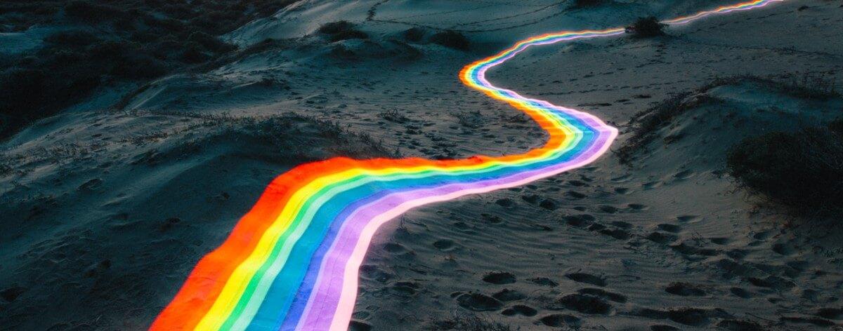 Daniel Mercadante y sus carreteras de arcoiris