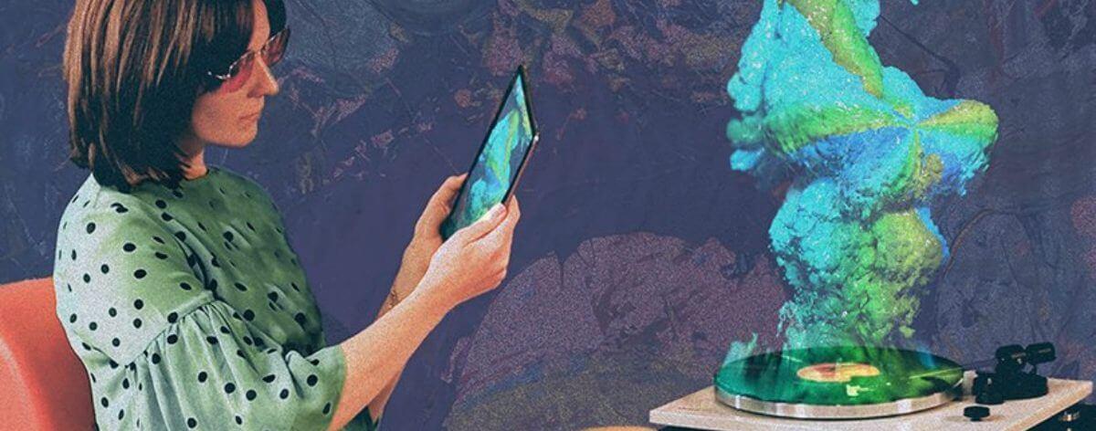 Lava trae el 3D para escuchar música