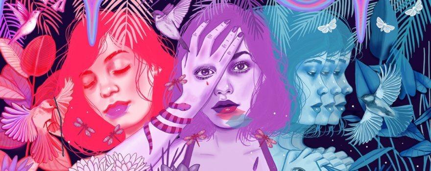 Mónica Loya y sus creaciones en pop surrealista