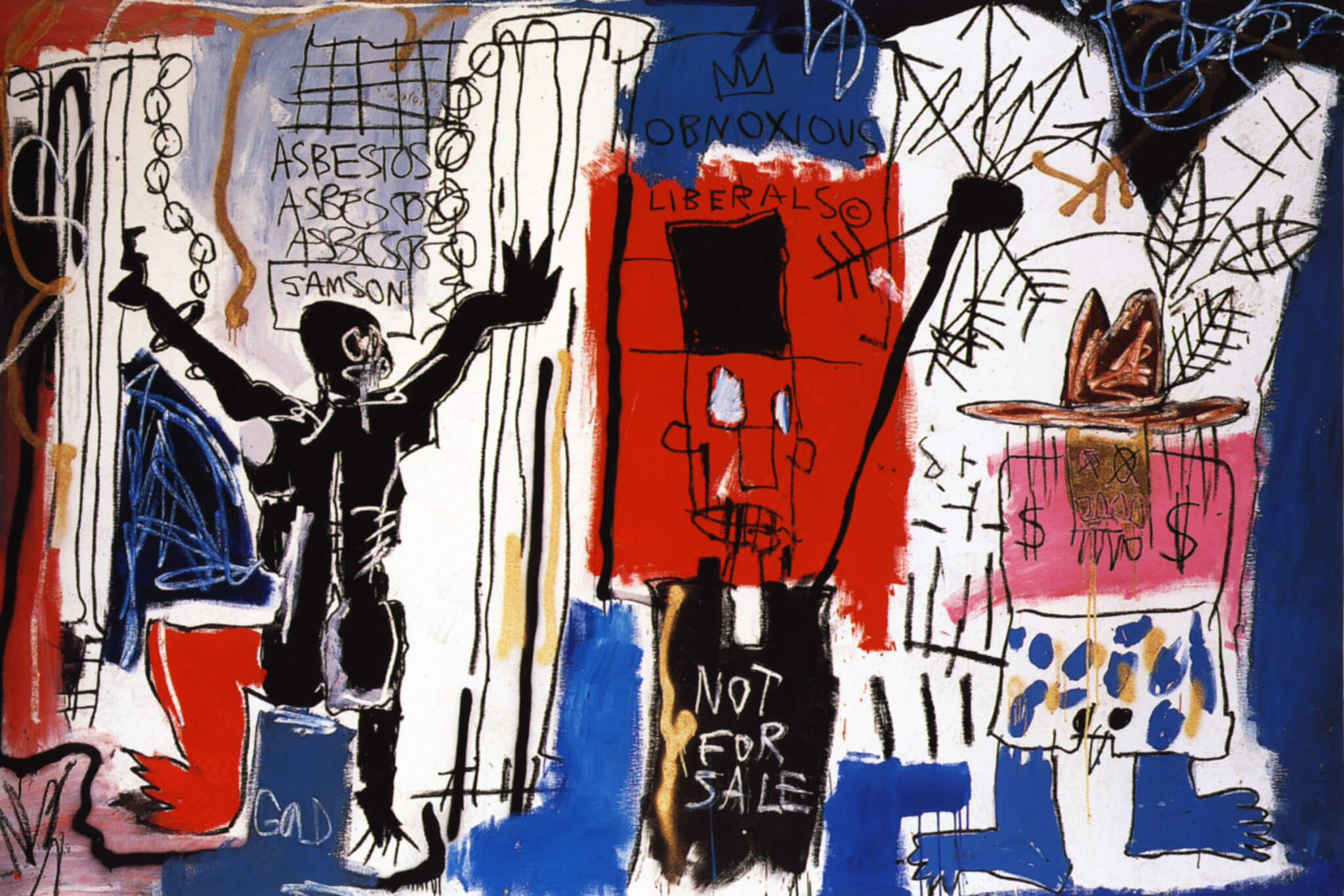 Exhibición de Basquiat por parte de Fondation Louis Vuitton