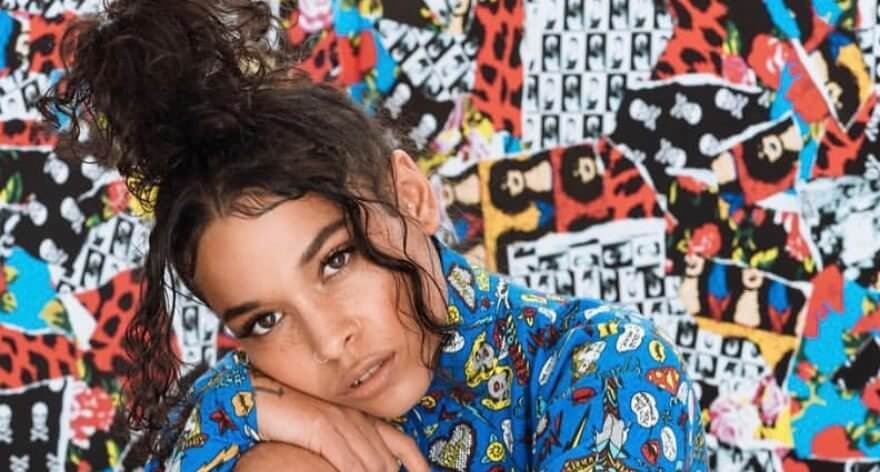 Princess Nokia en la colección Otoño 2018 de Betsey Johnson