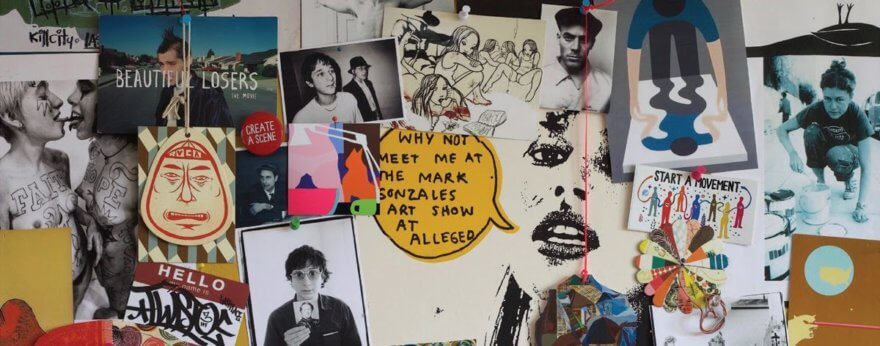 The Hole Gallery exhibe trabajo de la cultura DIY