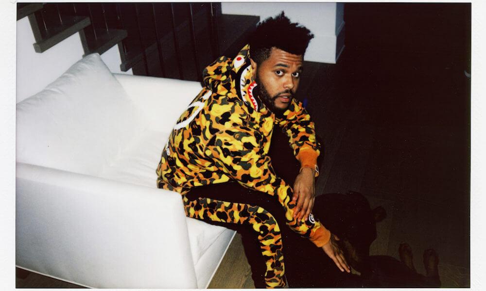 The Weeknd & Bape con nueva colaboración