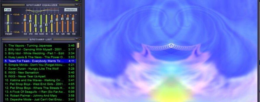 Winamp regresa para crear nostalgia con visuales