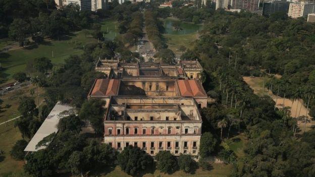 Museo Nacional de Rio de Janeiro