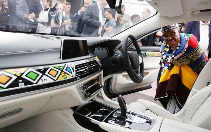 Esther Mahlangu, BMW, arte sudafricano