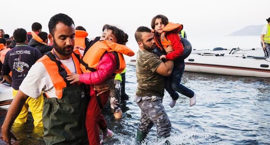 The List, destrozado monumento a refugiados