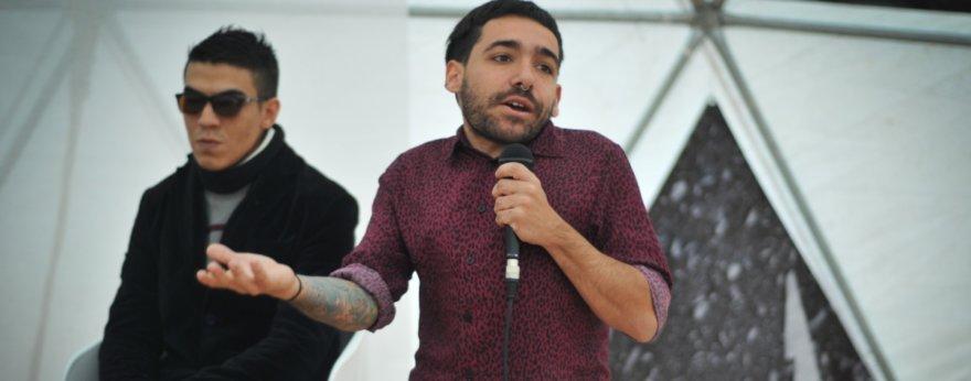 Elian Chali se presenta como curador en feria de arte