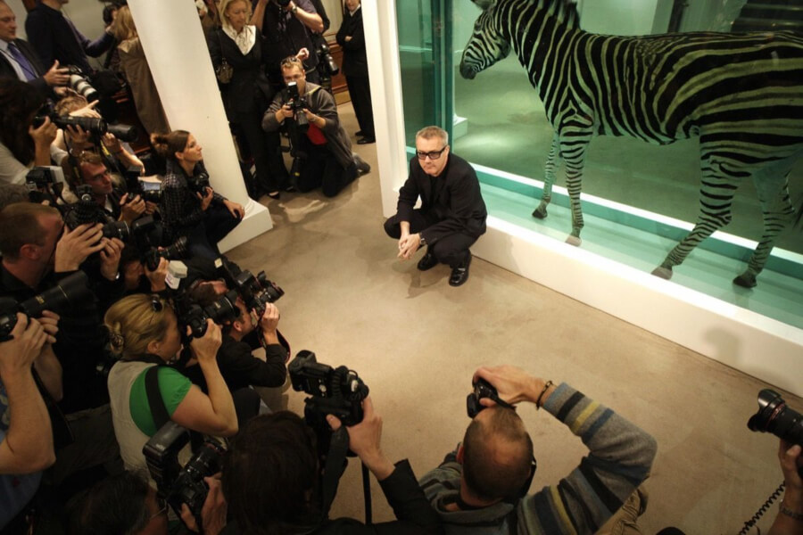 obras de Damien Hirst pierden valor 2