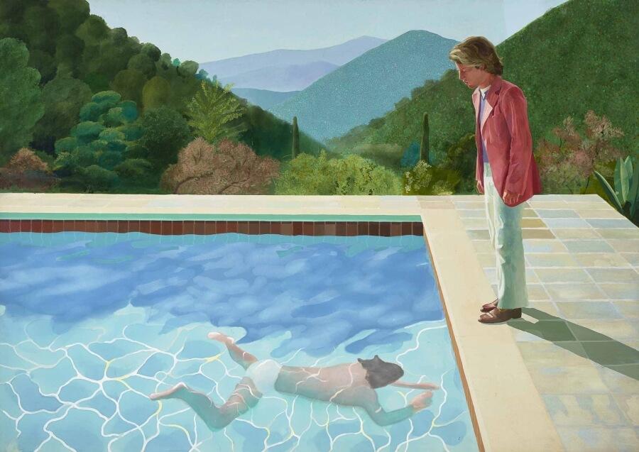 David Hockney, pintura más cara en subasta