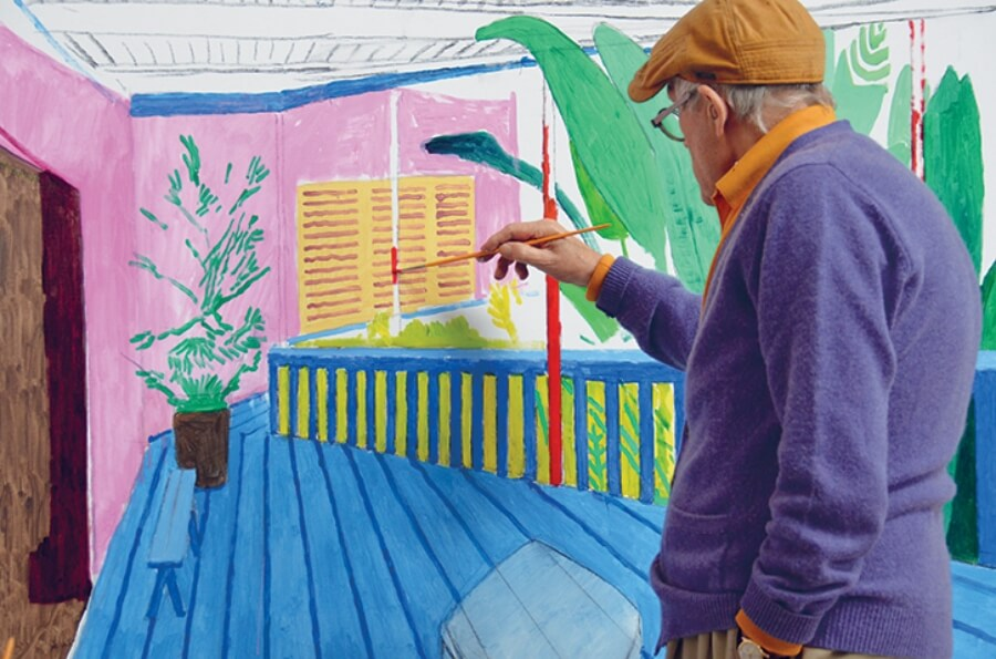 David Hockney pintura más cara en subasta