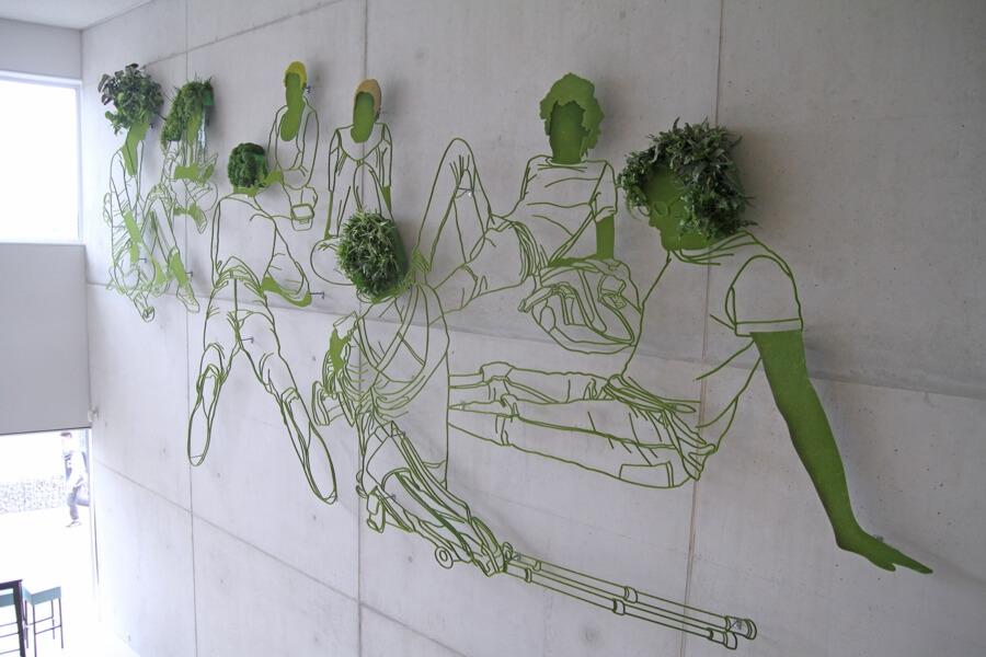 GRow, Frank Plant, dibujos escultóricos