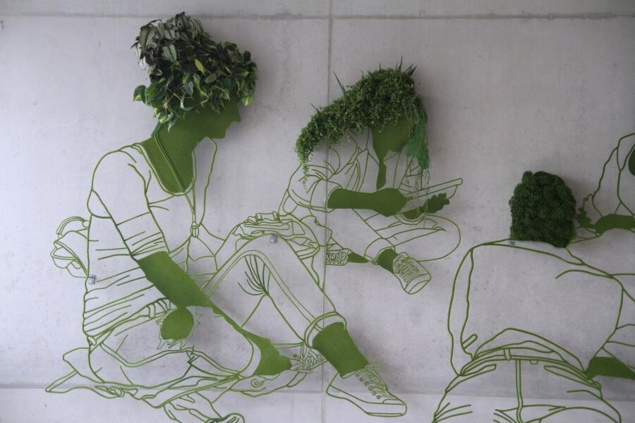 Frank Plant, dibujos escultóricos