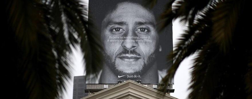 Colin Kaepernick y Nike en controversia