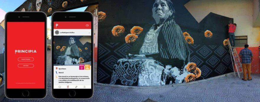 Principia, un App para crear paz mediante el arte urbano